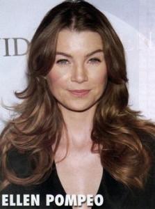 Celebrity Hairstyles - Ellen Pompeo