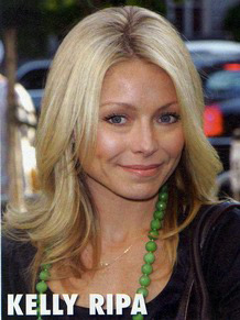 Celebrity Hairstyles - Kelly Ripa
