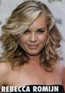 Celebrity Hairstyles - Rebecca Romijn